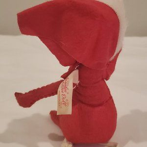 Annalee Holiday - Annalee vintage Christmas Santa mouse 1971